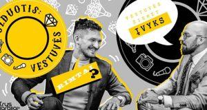 """""""Užduotis: vestuvės"""": barmenas M.Marcinkevičius atskleidžia, kokie kokteiliai populiariausi ir kodėl jaunieji linksmintis pradeda tik po 12?"""
